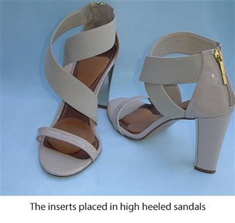 high heel comfort inserts how the newly patented high heel inserts work killer