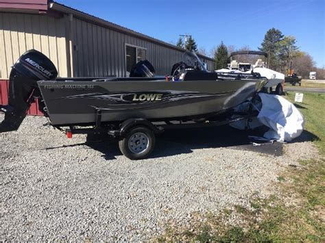 lowe boats ohio lowe fm 165 boats for sale in wilmington ohio