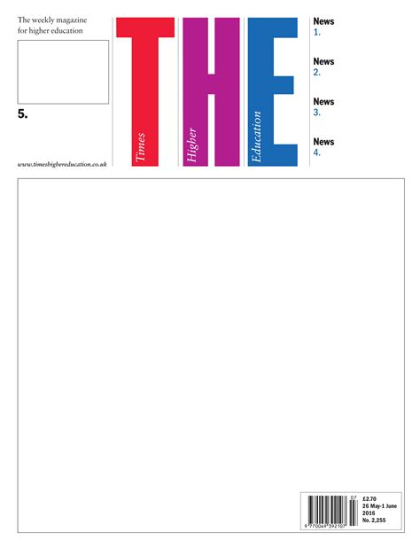 magazine cover template contents page magazine template