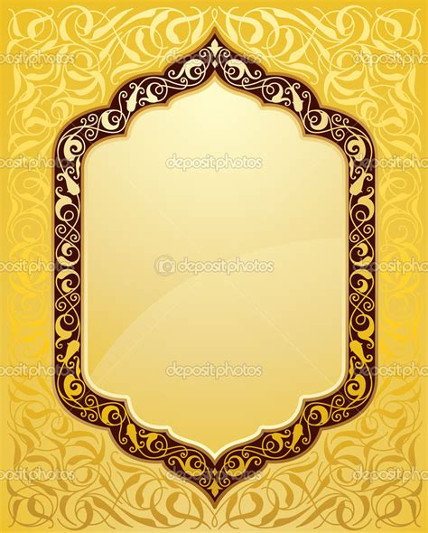 template koran photoshop 16 gold islamic patterns vector images islamic