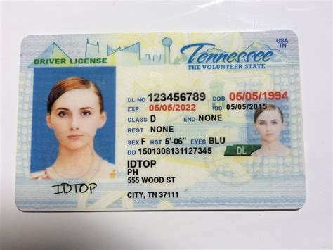 tennessee drivers license template cheap tennessee tn ids for sale 90 00 buy
