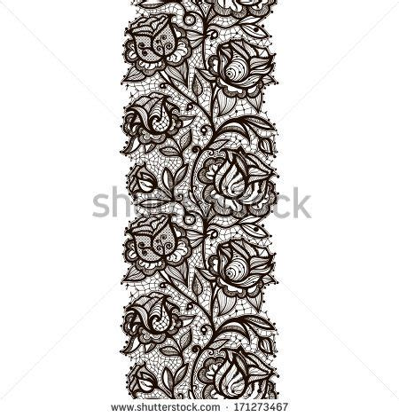 garter templates lace garter drawing pattern search