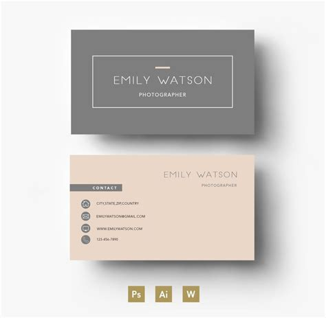 plain business card template word the 25 best ideas about business card design on
