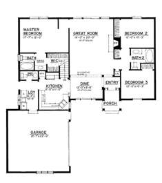 1500 Square Foot House Plans Gallery For Gt Ranch Style Floor Plans 1500 Sq Ft