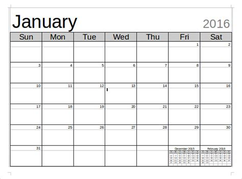 microsoft calendar template 8 download free documents in