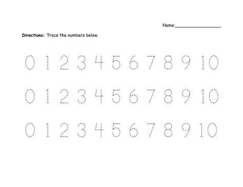 printable handwriting worksheets numbers best photos of writing numbers 1 10 printable number