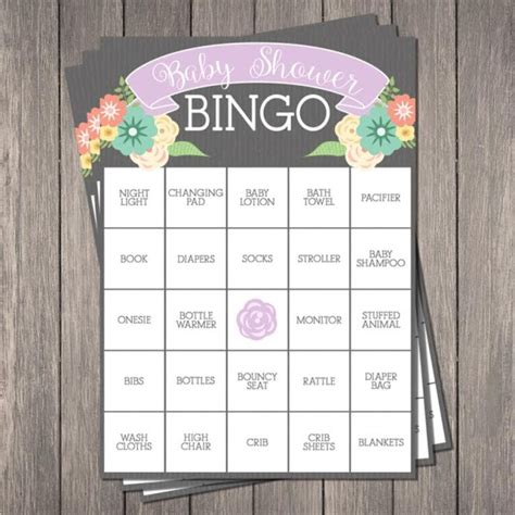 Bingo For Baby Shower Free Printable by 15 Free Baby Shower Printables Pretty My Ideas