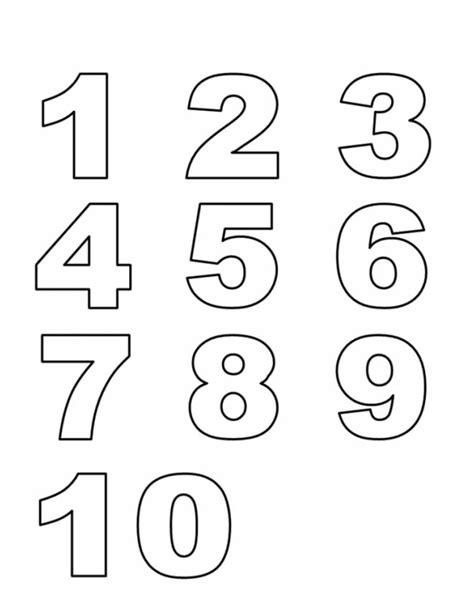 printable number line color sta disegno di numeri da colorare
