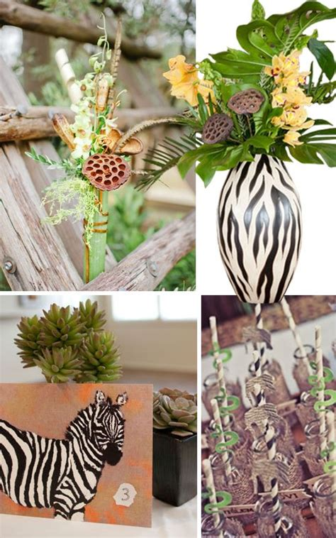 19 best images about safari themed centerpieces on