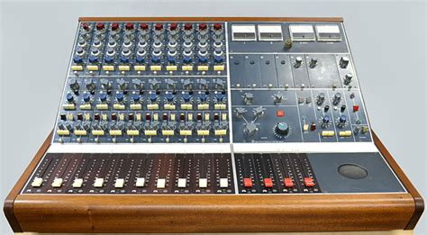 Small Mixing Desk 4 Small Neve Classic Desks Funky Junk