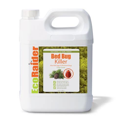 bed bug egg killer spray  gallon jug ecoraider natural bed bug killer
