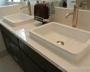 blanco maple silestone vanity top bathroom by rjk