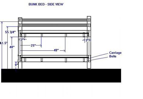 how to make a bunk bed how to make a bunk bed for homesteady