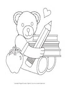First day of kindergarten colouring pages page 2