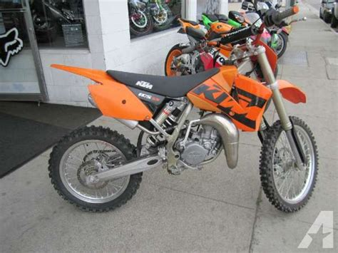 Ktm 105 Sx For Sale 2004 Ktm 105 Sx For Sale In Santa Barbara California