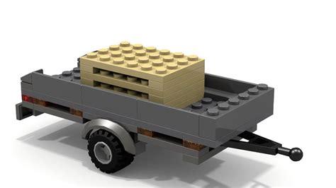 lego rv tutorial lego palette trailer moc instructions youtube