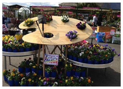 Garden Display Ideas Paint Your Garden With Colour At Stoneman S Garden Centre Garden Centre Displays Pinterest