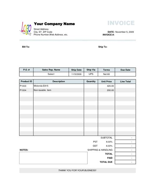 travel agency invoice format excel all tour pinterest invoice