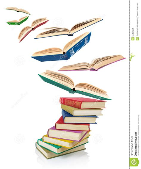 why time flies a mostly scientific investigation books stack of books and flying books stock image image
