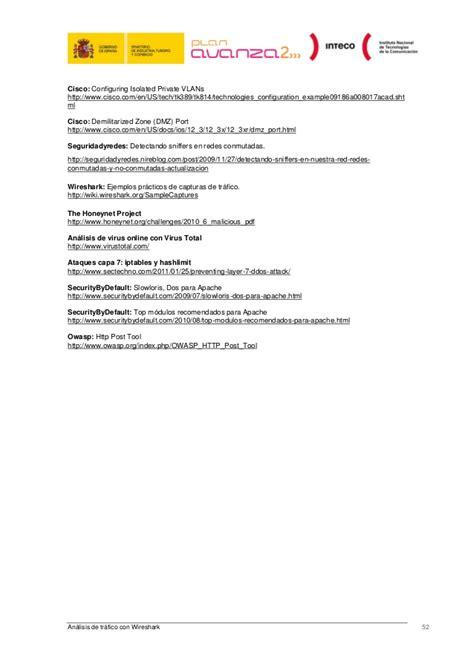 tutorial de wireshark en español pdf analisis de trafico con wireshark