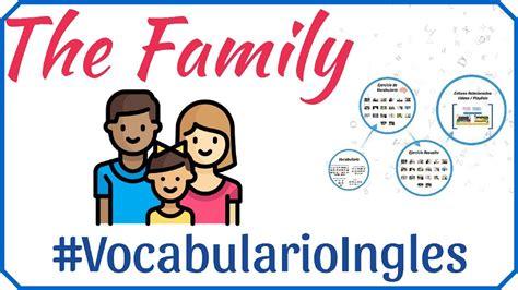imagenes sobre la familia en ingles vocabulario de la familia en ingl 233 s con im 225 genes