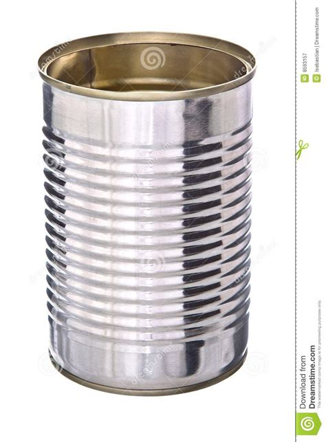 tin can royalty free stock photography image 8593157
