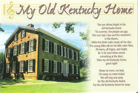 historic my kentucky home song flickr photo