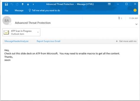 Office 365 Outlook Unable To Attachments Evolving Office 365 Advanced Threat Protection With Url