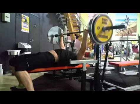 bench press 150 lbs bench press 3 x 6 x 150 kg 330 lbs youtube