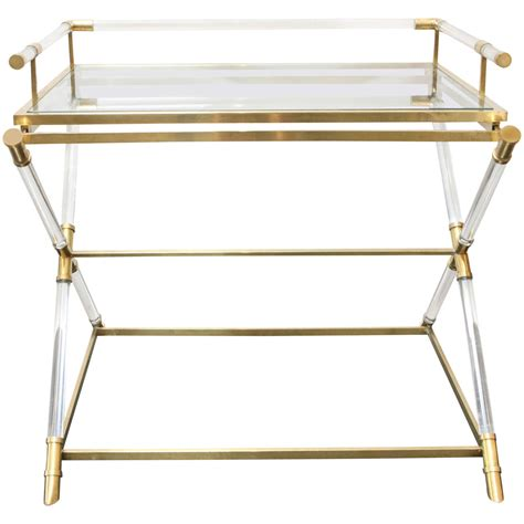 Acrylic Bar Table Unique Lucite Bar Table 1960s At 1stdibs