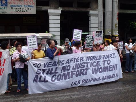 comfort women in philippines reza fiyouzat quot japan s modern historical loop quot