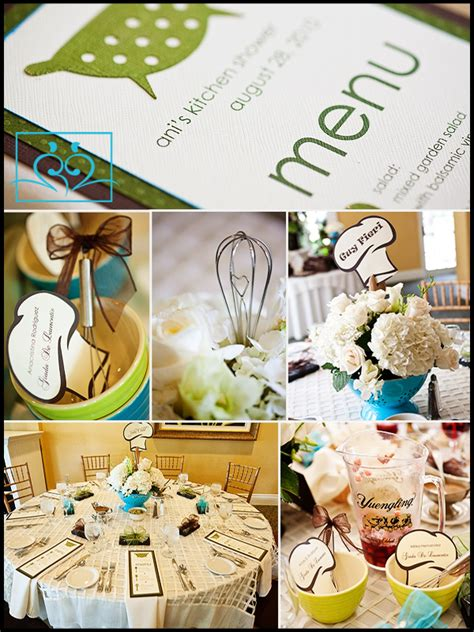 kitchen themed bridal shower ideas memorable wedding great wedding shower tips how to have