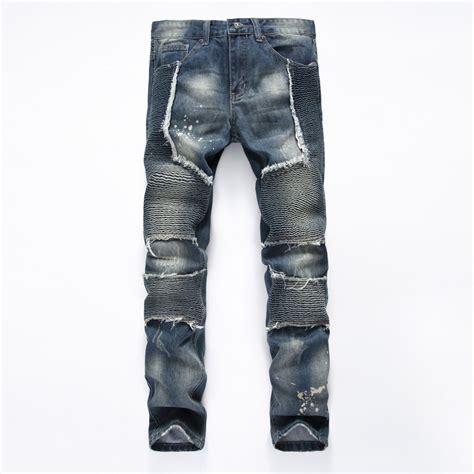design jeans mens biker jeans designer destroyed ᗔ distressed
