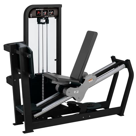 hammer strength selectorized seated leg press used