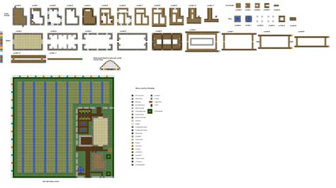 farm blueprints minecraft farmhouse blueprints inspiration home plans