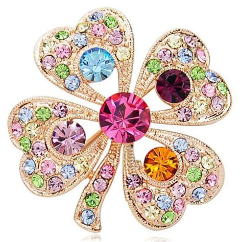 8 gorgeous items with retro style from the 2013 ikea catalog korean fashion full crystal clover brooch gorgeous retro