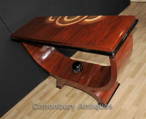 deco table rosewood deco oggee console table 1920s furniture