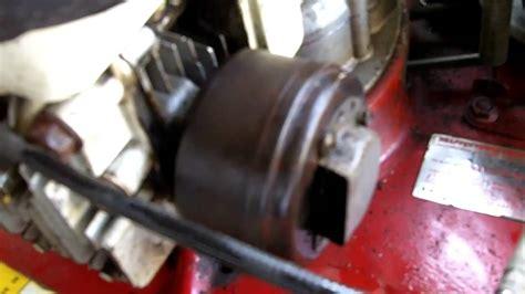 lawn mower oil leak youtube