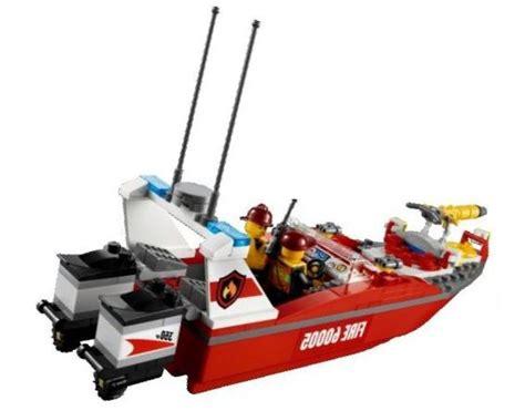 lego boat with engine lego 60005 city fire boat i brick city