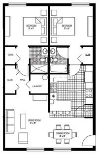 Two Bedroom House Floor Plans Luxury 2 Bedroom Floor Plans 2 Bedroom Floor Plan 30x30