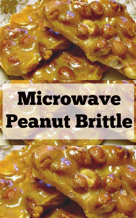 Planters Peanut Brittle Recipe by Peanut Brittle Recipe Microwave