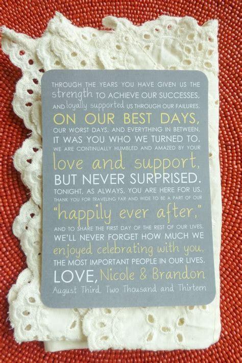 13 best Wedding thank you images on Pinterest   Wedding