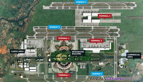 layout bandara soekarno hatta isu hingga realisasi pembangunan terminal 4 bandara