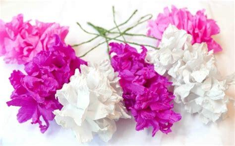 blumenstrauß aus papier basteln blumen selber basteln 55 ideen f 252 r kinder und erwachsene