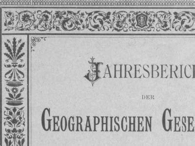 jahresberichte der geographischen gesellschaft bern | digibern