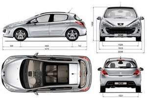 Peugeot 308 Sw Dimensions Peugeot 308 Pictures Images Photos Carvet Info