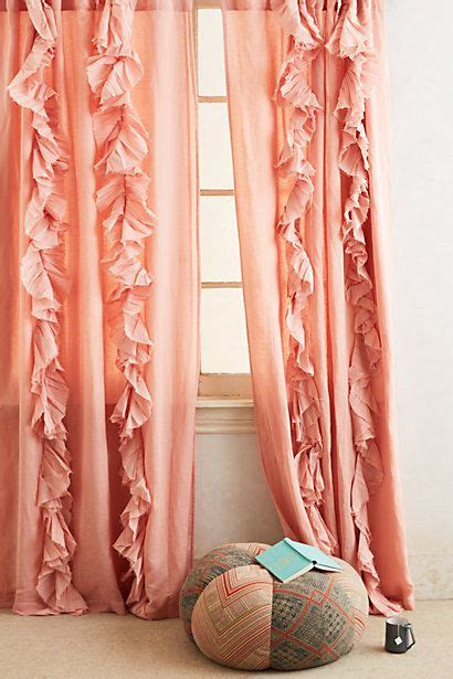 coral bedroom curtains coral curtains drapes best 25 peach curtains ideas on
