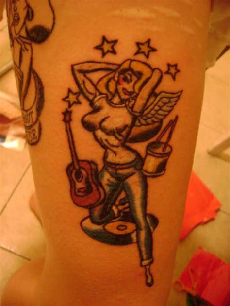 tattoo angel pin up pin up girls tattoos tattoo designs