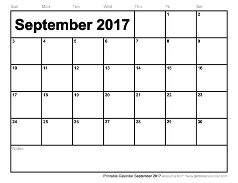 september 2017 calendar excel weekly calendar template
