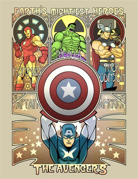 Film Marvel Nouveau | avengers nouveau by ninjaink on deviantart